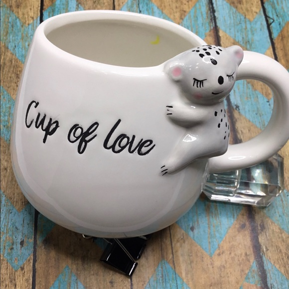 Pacifica Home Other - Pacifica CUP OF LOVE Mug NEW